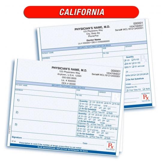 California Prescription Pads New Requirements Netbank