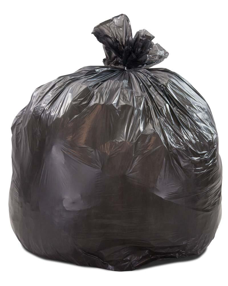 33 Gallon Regular Duty Trash Bags 0 5 Mil 250 Case