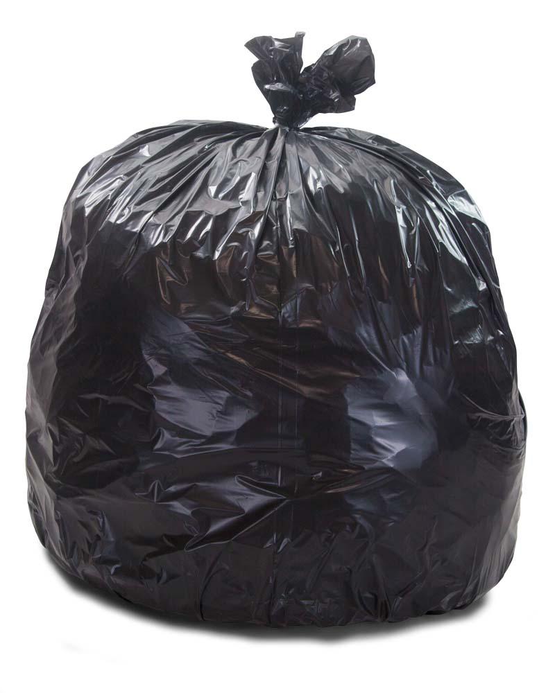 33 Gallon Repro Trash Bags 1 5 Mil 100 Case