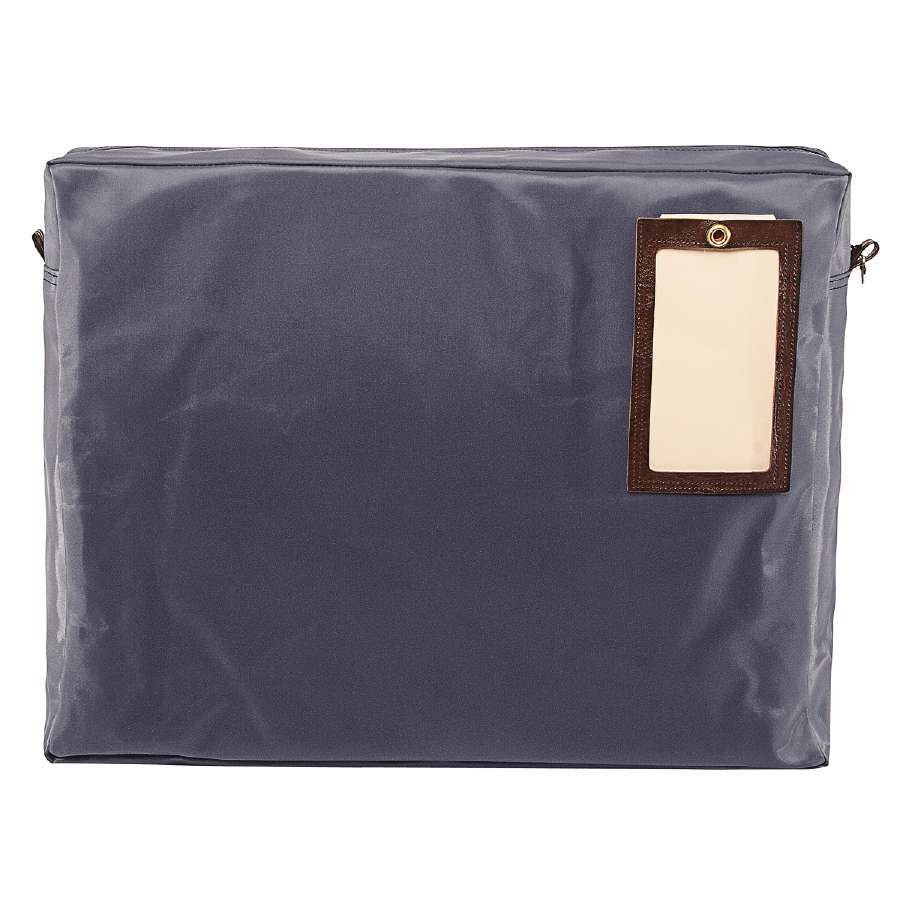 18wx14hx4d Laminated Nylon Expandable Zipper Mail Bag