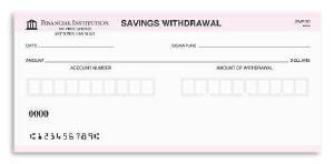 pnc bank withdrawal slip form