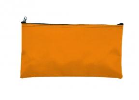 Image of item: Orange Zipper Wallets