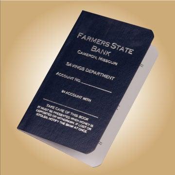 passbooks checking savings cd account books netbankstore com