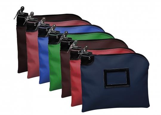 Locking Deposit Bag Laminated Nylon 10w X 8h