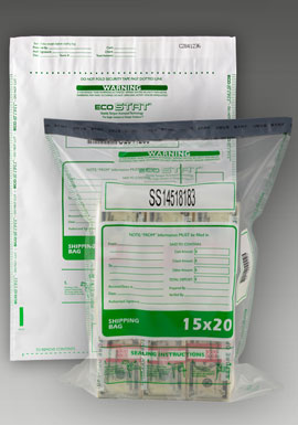 15W x 20H Tamper-Evident Security Bags