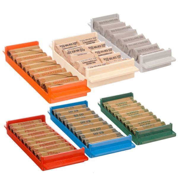 Coin Storage Trays
